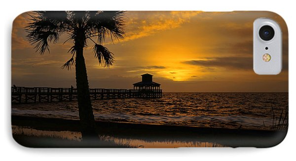Island Sunrise IPhone Case by Judy Vincent