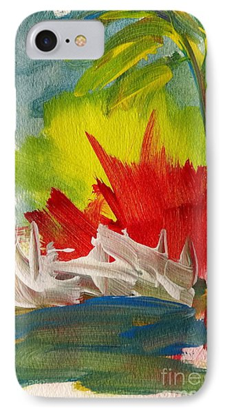 Island Sunset IPhone Case by Fred Wilson