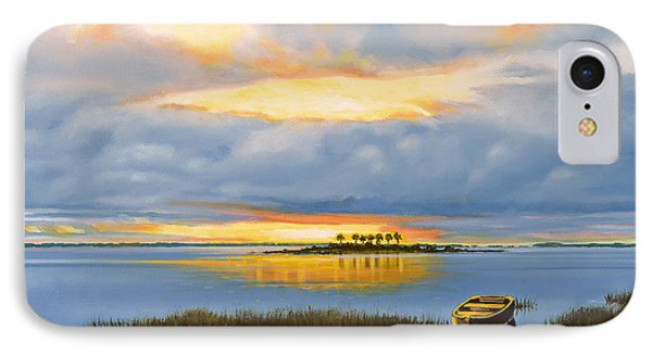 Island Sunset IPhone Case by Rick McKinney