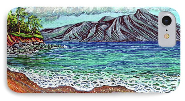 Island Time IPhone Case by Debbie Chamberlin