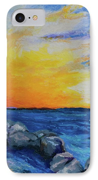 IPhone Case featuring the painting Island Time by Stephen Anderson