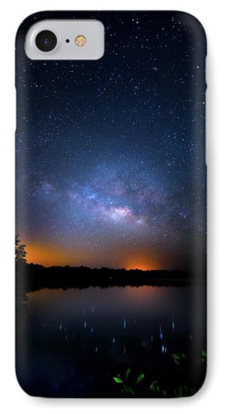 Island Universe IPhone Case by Mark Andrew Thomas