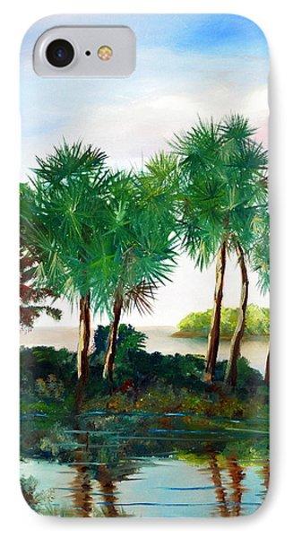 Isle Of Palms Phone Case by Phil Burton