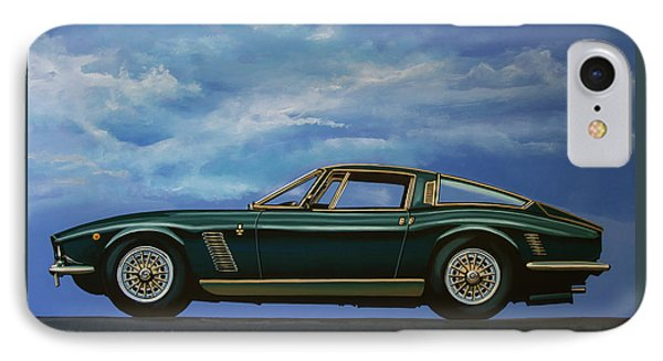 Iso Grifo Gl 1963 Painting IPhone Case by Paul Meijering