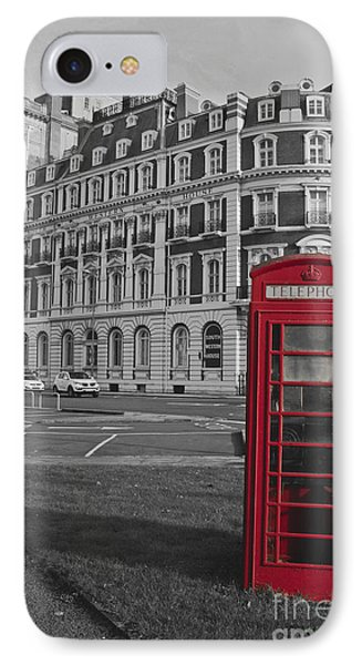 Isolated Phone Box IPhone Case by Terri Waters