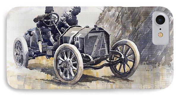 Isotta Fraschini 50hp 1908 Targa Florio  IPhone Case