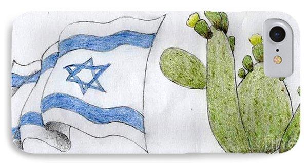 Israel IPhone Case by Annemeet Hasidi- van der Leij