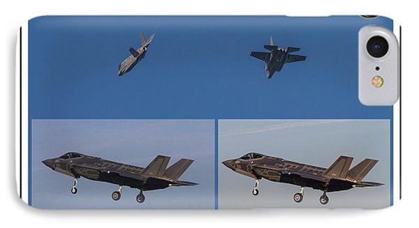 Israeli Air Force First Two F-35i Adir IPhone Case by Amos Dor