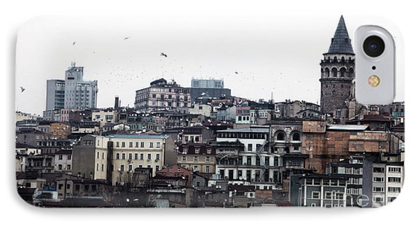 Istanbul Buildings Phone Case by John Rizzuto