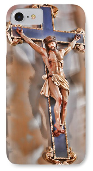 It Is Finished - Mission San Jose IPhone Case by Stephen Stookey