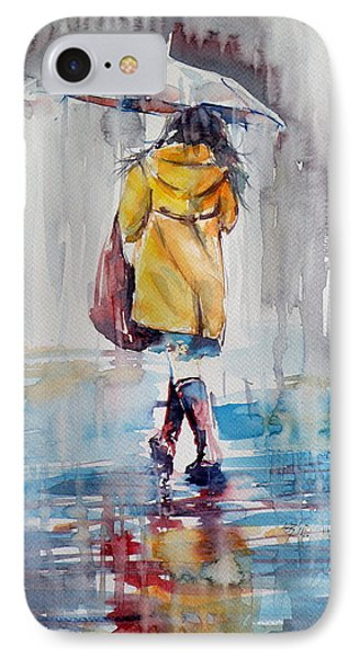 It Is Raining IPhone Case by Kovacs Anna Brigitta