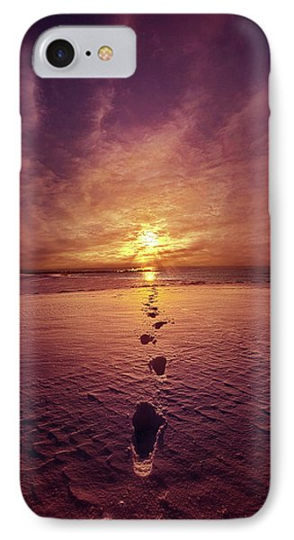 IPhone Case featuring the photograph It Is Then That I Carried You by Phil Koch
