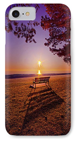 IPhone Case featuring the photograph It Is Words With You I Seek by Phil Koch