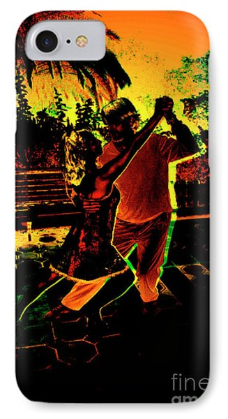 IPhone Case featuring the photograph It Takes Two To Tango by Al Bourassa