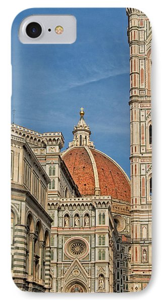 IPhone Case featuring the photograph Italian Basilica by Kim Wilson