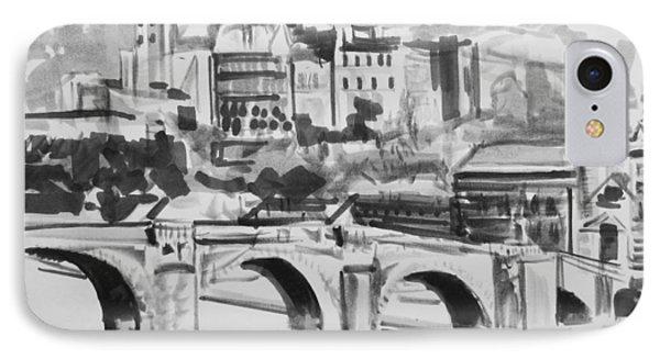 Italian Bridge IPhone Case by John Keaton
