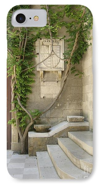 Italian Courtyard- Brindisi IPhone Case