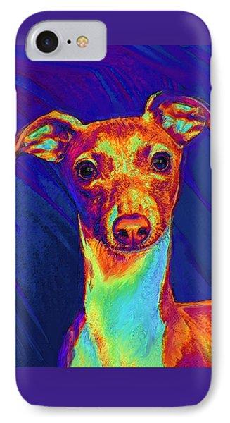 Italian Greyhound  Phone Case by Jane Schnetlage