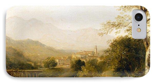 Italian Landscape Phone Case by Joseph William Allen