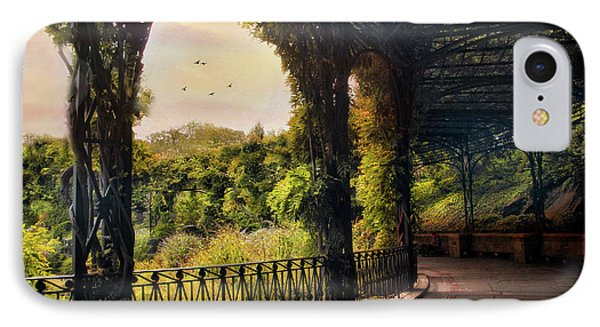 Italian Pergola IPhone Case by Jessica Jenney
