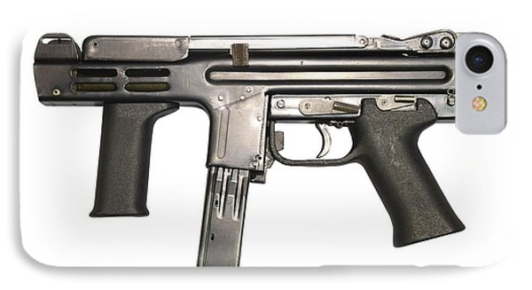 Italian Spectre M4 Submachine Gun Phone Case by Andrew Chittock