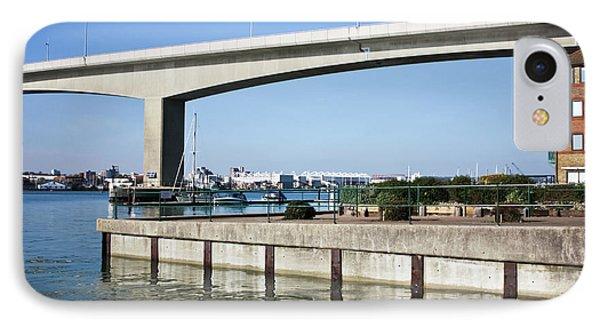 Itchen Bridge Southampton Phone Case by Terri Waters