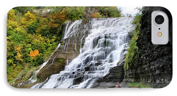 Ithaca Falls Phone Case by Christina Rollo