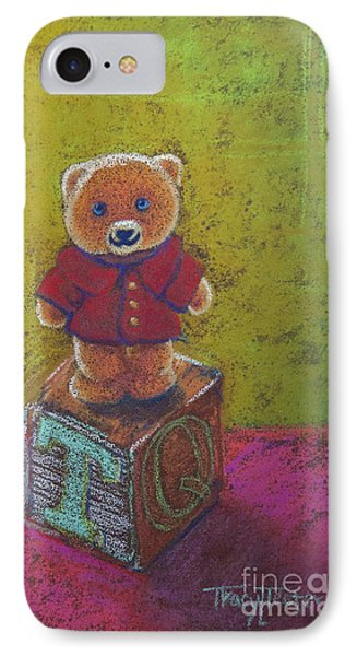 It's A Bear's World Phone Case by Tracy L Teeter