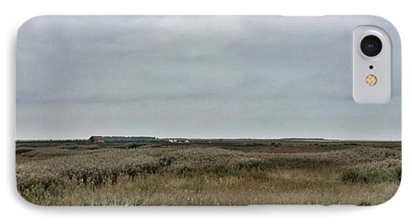 It's A Grey Day In North Norfolk Today Phone Case by John Edwards