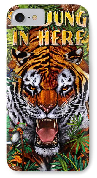 It's A Jungle  IPhone Case