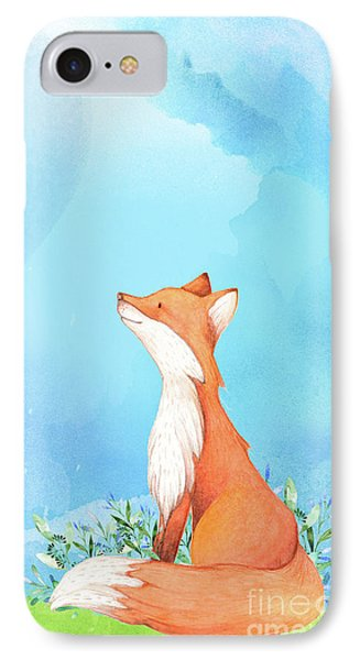 It's All Love Fox Love IPhone Case by Tina Lavoie