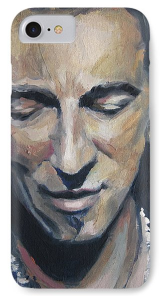 It's Boss Time II - Bruce Springsteen Portrait IPhone Case
