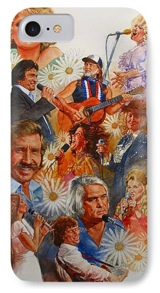 Its Country 1 Phone Case by Cliff Spohn