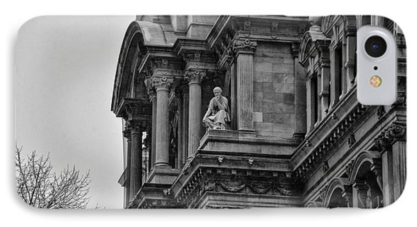 It's In The Details - Philadelphia City Hall Phone Case by Bill Cannon