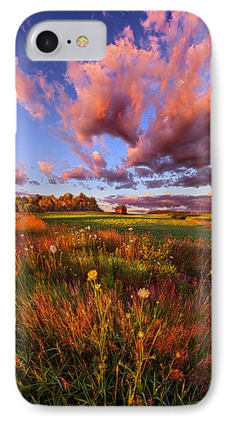 It's Like Going To Heaven With Your Feet Still On The Ground IPhone Case by Phil Koch
