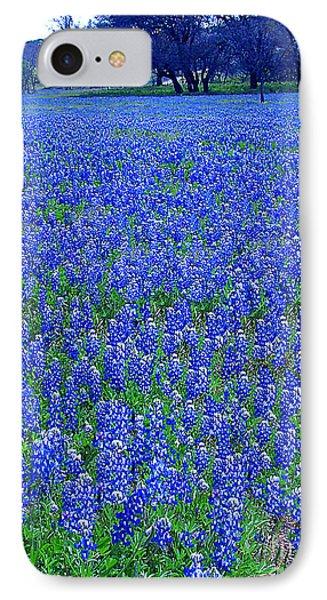 It's Spring - Texas Bluebonnets Time IPhone Case by Merton Allen