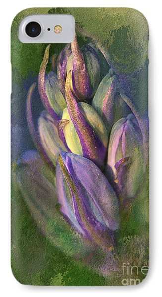 Itty Bitty Baby Bluebells IPhone Case by Lois Bryan