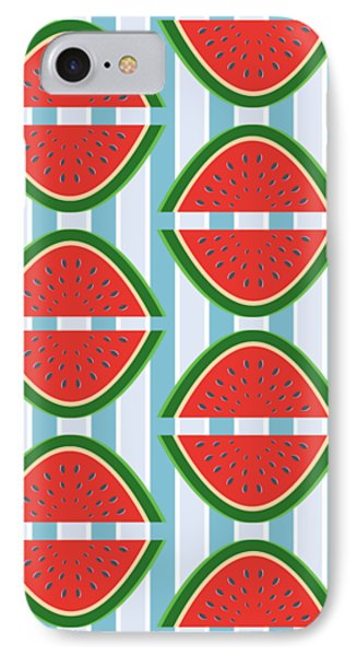 I've Been Drinking Watermelon IPhone Case by Lauren Amelia Hughes