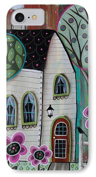 Ivory Cottage IPhone Case by Karla Gerard