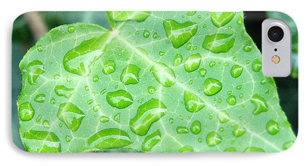 Ivy Leaf Phone Case by Michael Peychich