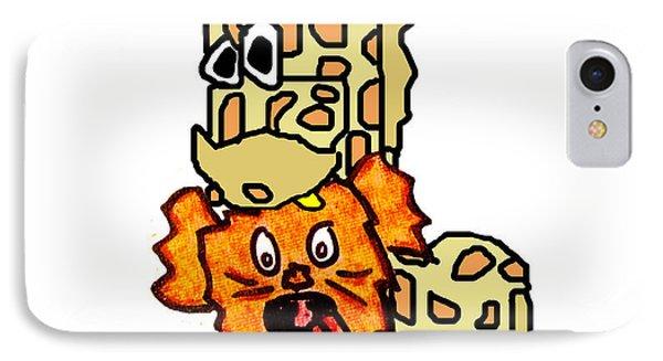 Izzy As Giraffe IPhone Case