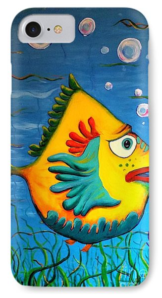 Izzy On The Itch IPhone Case by Vickie Scarlett-Fisher