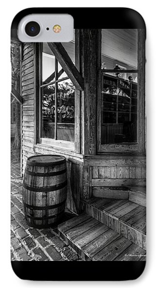 J. R. Terry Dry Goods 1879 IPhone Case by Marvin Spates