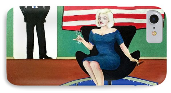 Jack And Marilyn IPhone Case by John Lyes