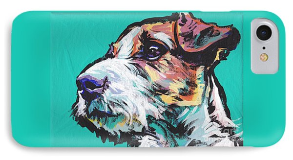 Jack Be Nimble  Jack Russell Terrier IPhone Case by Lea S
