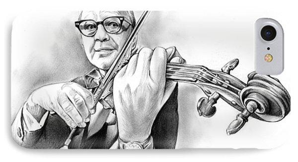 Violin iPhone 7 Case - Jack Benny by Greg Joens