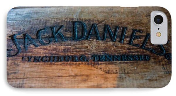 Jack Daniels Oak Barrel IPhone Case