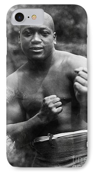 Jack Johnson (1878-1946) Phone Case by Granger