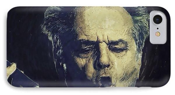 Jack Nicholson 2 IPhone Case by Semih Yurdabak