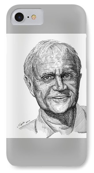 Jack Nicklaus IPhone Case by Lawrence Tripoli